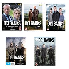 DCI Banks Series Season 1, 2, 3, 4 & 5 DVD Set New & Sealed R4
