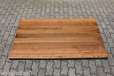 Tischplatte Platte Nussbaum 1600/800/40mm Massiv Holz mit Baumkante NEU Leimholz