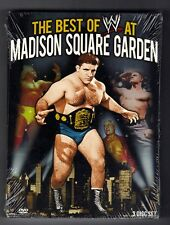 WWE: The Best of WWE at Madison Square Garden (DVD, 2013, 3-Disc Set)