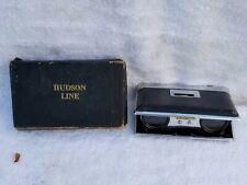 Vintage Hudson Line Folding Horse Racing Opera Glasses With Box
