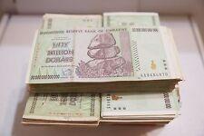 5 x 50 Trillion zimbabwe 2008 series AA- /100 Trillion series circulated