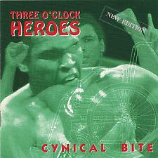 THREE O´CLOCK HEROES Cynical bite CD (1992 We Bite) Neu!