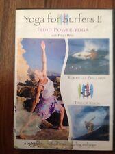 Yoga For Surfers II - Fluid Power Yoga (DVD 2004) Peggy Hall Rochelle Ballard