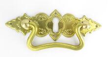 CERNIERA OTTONE MANIGLIA armadio cassetto armadietto porta ottone oro golden