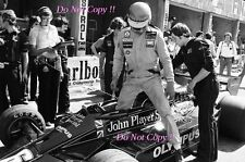 Ronnie Peterson JPS Lotus 78 italiano Grand Prix 1978 fotografía 4