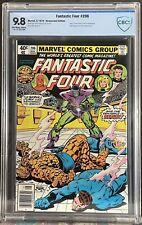 Fantastic Four #206 (1979) CBCS 9.8 Newsstand Variant Nova Skrulls Near Mint CGC