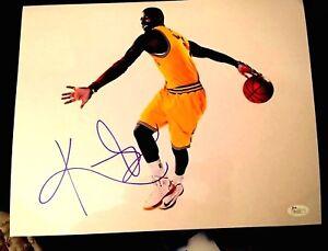 Kyrie Irving Signed Autograph 11x14 Photo Cleveland Cavs JSA