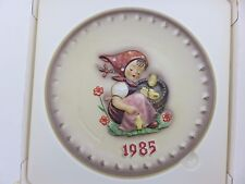 Hummel 1985 Annual Collector's Plate 15th In Series With Box Made In Germany