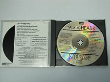 "TALKING HEADS Stop Making Sense RARE WEST GERMANY cd  NO BARCODE "" NM"""