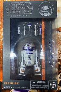Star Wars Black Series Orange Line R2-D2 #04 Hasbro 2013 opened