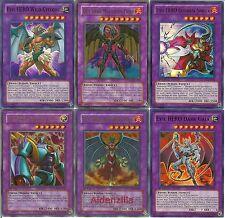Yugioh Jaden Evil Hero Deck - Malicious Fiend, Dark Fusion, Lightning Golem