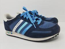 hot sale online a71cf 1b8bb Adidas L.A. Trainer OG Trainers Originals Size 5.5 Blue  Light Blue  White