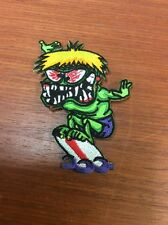 Mad ,Crazy Surfer Dude Patch! Iron On