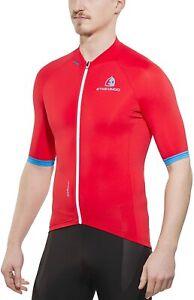 Etxeondo Jersey Entzun TX 32563 Red Black New XL Cycling Clothes made in Spain
