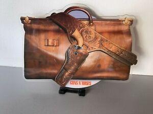GUNS N ROSES NIGHTRAIN SHAPED PICTURE DISC VINYL