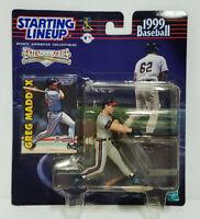 GREG MADDUX Atlanta Braves Starting Lineup MLB SLU 1999 Action Figure & Card NEW
