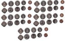 Bahamas - 5 pcs x Set 5 Coins 1 5 10 15 25 Cents 2005 - 2016 UNC Lemberg-Zp
