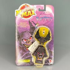 RARE 1992 Mighty Max Defeats Vamp Biter Mattel, Horror Heads New on Card