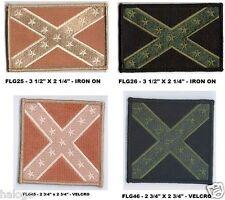 10 x FLG21 10 x USA WHITE BORDER FLAG PATCH Insignes