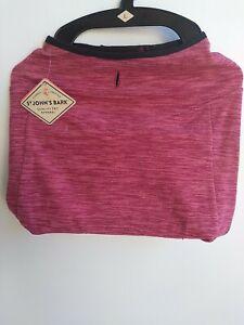 St Johns Bark Size Large Pink Fleece Dog Pet Vest Jacket Winter Clothes NWT