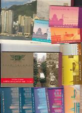 Hong Kong.  Booklets 12 items