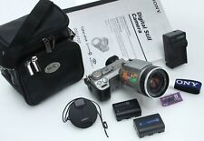 Sony Cyber-Shot DSC-F707 5MP Digital Camera w/Zeiss 10x Zoom case 391167