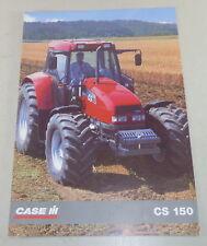 Prospekt Case CS 150 Trecker von 1996