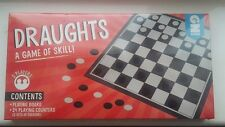 Draughts Adult Children Kids Board Game Gift 5+ (32cm by 32cm)