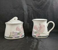 Noritake Japan New Decade CAFE DU SOIR 9094 Cream and Sugar Set