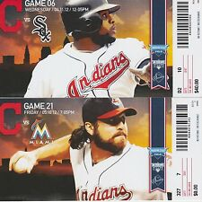 2012 Cleveland Indians Suite Tickets - UNUSED - Pick A Date!