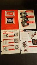 Barrett Equipment Company Brake Doktor Service Equipment Advertising Sheets