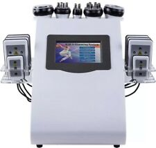 6in1 40K Cavitation Ultrasonic Radio Frequency Fat Burner, Lipo Machine SPA