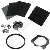 FULL ND2 4 8 filter+Pouch Case+52mm Adapter Ring+Holder for Cokin P Series kit