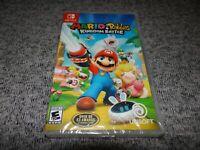BRAND NEW Mario + Rabbids: Kingdom Battle (Nintendo Switch Game) FACTORY SEALED