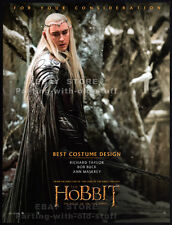 THE HOBBIT: Battle of the Five Armies__Orig. 2014 Trade AD_Oscar promo__LEE PACE