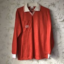 Vintage Teamplate Umbro Football Shirt Jersey Longsleeve 1990s Size L