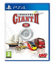 Industry Giant 2 II HD Remake [PlayStation 4 PS4, Region Free, Simulation] NEW