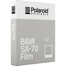 Polaroid Originals SX70 Instant B&W Film - NEW VERSION