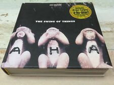 A-HA The Swing Of Things Book + CD  Norwegian edition Jan Omdahl  Morten Harket