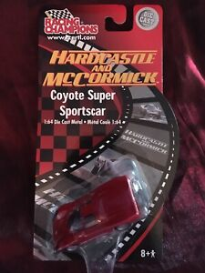 Racing Champions Hardcastle and McCormick Coyote Super Sportscar 1/64