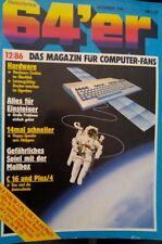 64er (64´er) 12/86 Dezember 1986 C 64 Commodore (Hardware, Floppy-Speeder)