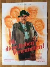 Oh, this love relatives (Cinema Poster' 55) - Joe Flat Box/Lucie English