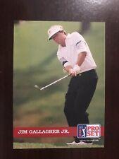 1992 Pro Set Golf #70 - Jim Gallagher Jr.