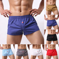 Men's Swim Shorts Swimwear Swimming Trunks Underwear Running Boxer Briefs Pants