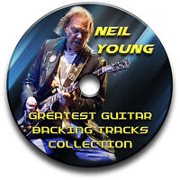 NEIL YOUNG STYLE AUDIO CD FOLK COUNTRY ROCK GUITAR BACKING JAM TRACKS