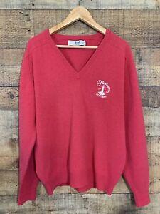 Vintage Pringle Turnberry Golf V Neck Sweater Size XL 107/42