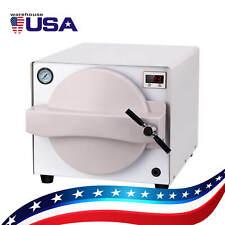 18l Dental Portable Autoclave Medical Steam Sterilizer Dental Lab Equipment