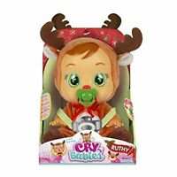 Cry Babies Ruthy The Reindeer Doll - Interactive Exclusive Doll - New for 2020