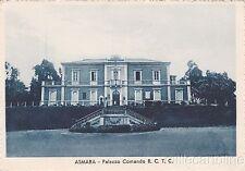 * ERITREA - Italian Colony, Asmara - Palazzo Comando R.C.T.C.