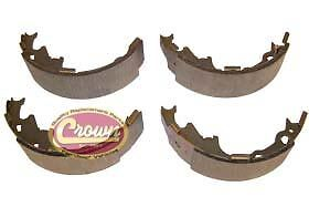 Jeep  Wrangler TJ Rear Brake Shoe & Lining Set